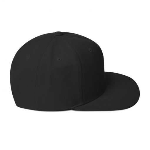 Black Kente Snapback