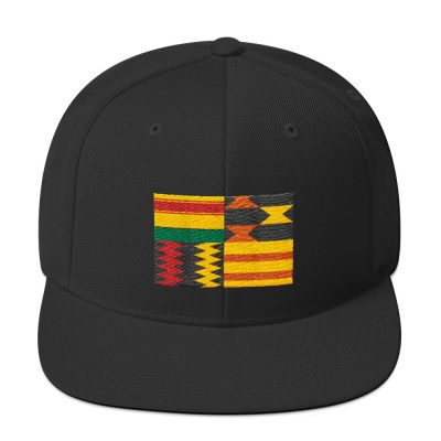 Olotu Yellow Kente Snapback